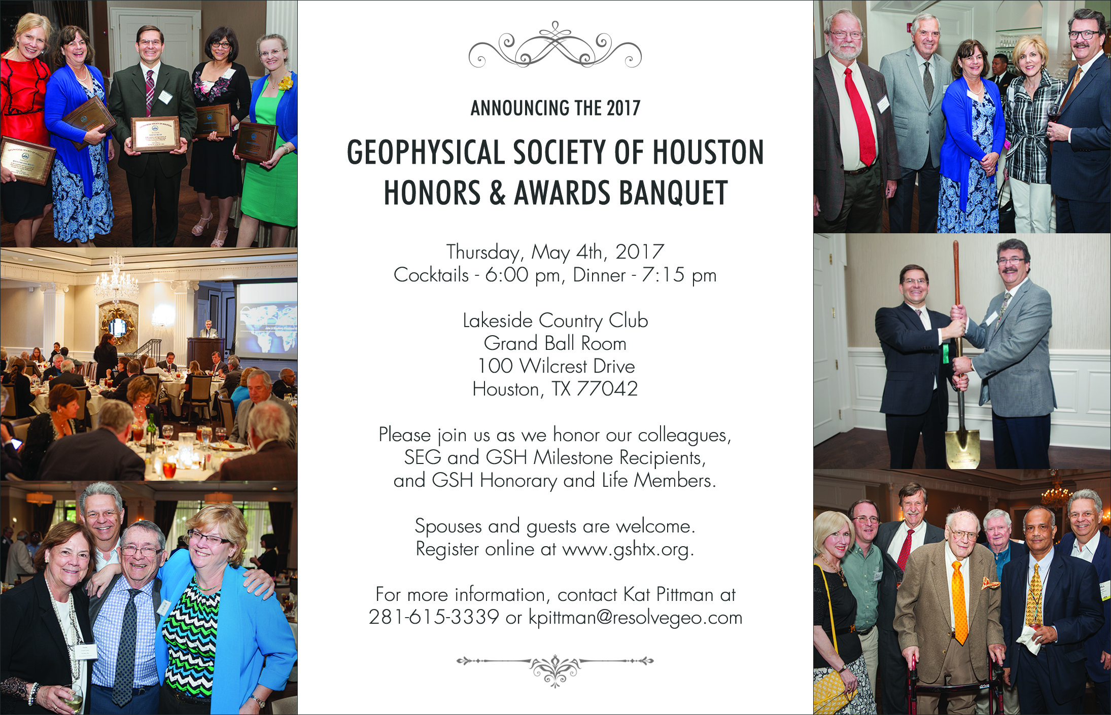 May 5th-GSH Honors & Awards Banquet